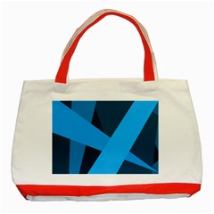 Blue Flag Classic Tote Bag (Red)