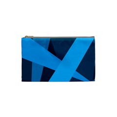 Blue Flag Cosmetic Bag (Small)