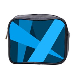 Blue Flag Mini Toiletries Bag 2-Side
