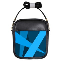 Blue Flag Girls Sling Bags