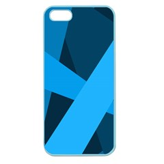 Blue Flag Apple Seamless iPhone 5 Case (Color)