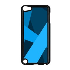 Blue Flag Apple iPod Touch 5 Case (Black)