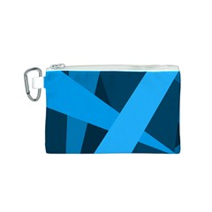 Blue Flag Canvas Cosmetic Bag (S)