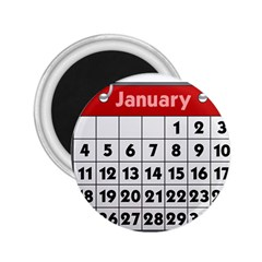 Calendar Clip January 2.25  Magnets