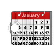 Calendar Clip January Kindle Fire HD (2013) Flip 360 Case