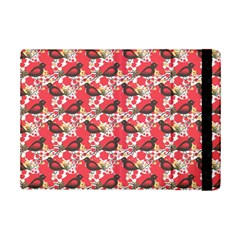 Birds Seamless Cute Birds Pattern Cute Red iPad Mini 2 Flip Cases