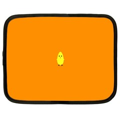 Chicks Orange Animals Netbook Case (XXL)