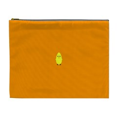 Chicks Orange Animals Cosmetic Bag (XL)