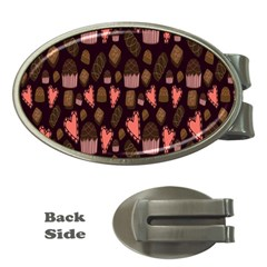 Bread Chocolate Candy Money Clips (Oval)