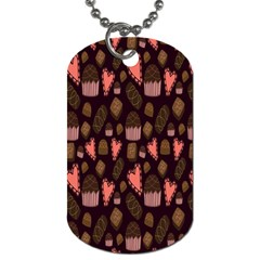 Bread Chocolate Candy Dog Tag (Two Sides)