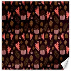 Bread Chocolate Candy Canvas 16  x 16