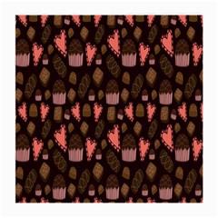 Bread Chocolate Candy Medium Glasses Cloth (2-Side)