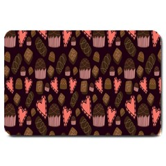 Bread Chocolate Candy Large Doormat