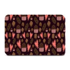 Bread Chocolate Candy Plate Mats