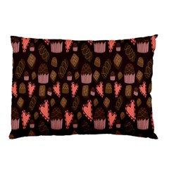 Bread Chocolate Candy Pillow Case