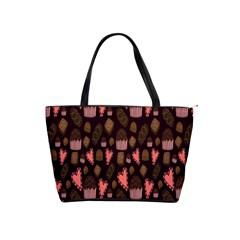 Bread Chocolate Candy Shoulder Handbags