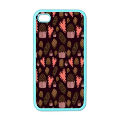 Bread Chocolate Candy Apple iPhone 4 Case (Color)