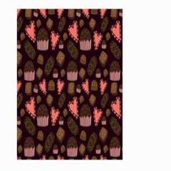 Bread Chocolate Candy Large Garden Flag (Two Sides)