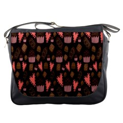 Bread Chocolate Candy Messenger Bags