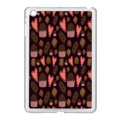 Bread Chocolate Candy Apple iPad Mini Case (White)