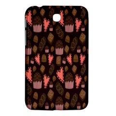 Bread Chocolate Candy Samsung Galaxy Tab 3 (7 ) P3200 Hardshell Case