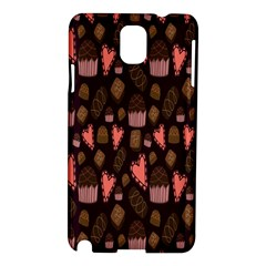 Bread Chocolate Candy Samsung Galaxy Note 3 N9005 Hardshell Case