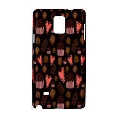 Bread Chocolate Candy Samsung Galaxy Note 4 Hardshell Case