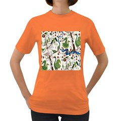 Bird Green Swan Women s Dark T-Shirt