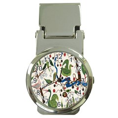 Bird Green Swan Money Clip Watches