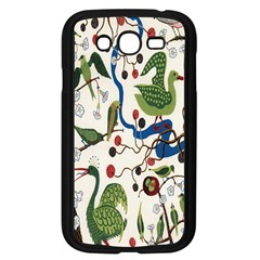 Bird Green Swan Samsung Galaxy Grand DUOS I9082 Case (Black)