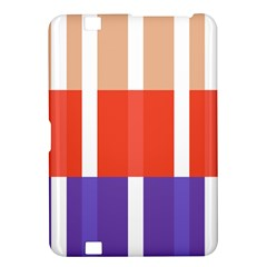 Compound Grid Flag Purple Red Brown Kindle Fire HD 8.9