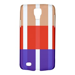 Compound Grid Flag Purple Red Brown Galaxy S4 Active