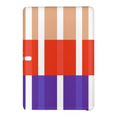 Compound Grid Flag Purple Red Brown Samsung Galaxy Tab Pro 12.2 Hardshell Case