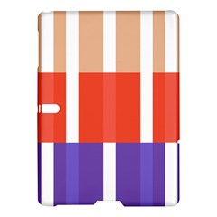 Compound Grid Flag Purple Red Brown Samsung Galaxy Tab S (10.5 ) Hardshell Case