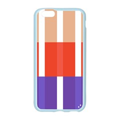 Compound Grid Flag Purple Red Brown Apple Seamless iPhone 6/6S Case (Color)