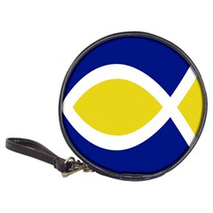Flag Blue Yellow White Classic 20-CD Wallets