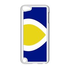 Flag Blue Yellow White Apple iPod Touch 5 Case (White)