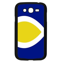 Flag Blue Yellow White Samsung Galaxy Grand DUOS I9082 Case (Black)