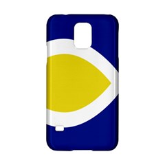 Flag Blue Yellow White Samsung Galaxy S5 Hardshell Case