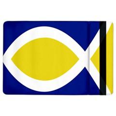 Flag Blue Yellow White iPad Air 2 Flip