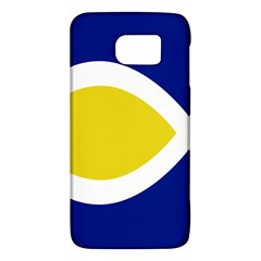 Flag Blue Yellow White Galaxy S6