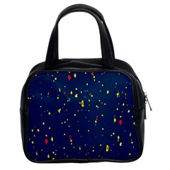 Christmas Sky Happy Classic Handbags (2 Sides)