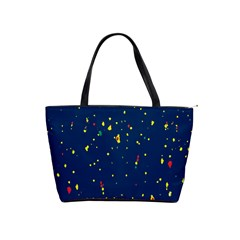Christmas Sky Happy Shoulder Handbags
