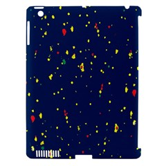 Christmas Sky Happy Apple iPad 3/4 Hardshell Case (Compatible with Smart Cover)