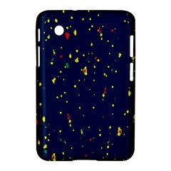 Christmas Sky Happy Samsung Galaxy Tab 2 (7 ) P3100 Hardshell Case