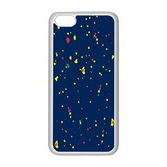Christmas Sky Happy Apple iPhone 5C Seamless Case (White)