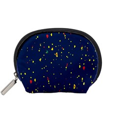 Christmas Sky Happy Accessory Pouches (Small)
