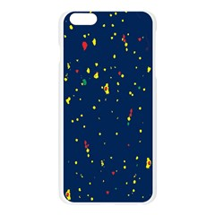 Christmas Sky Happy Apple Seamless iPhone 6 Plus/6S Plus Case (Transparent)