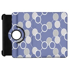Circle Blue Line Grey Kindle Fire HD 7