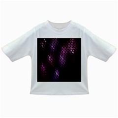 Fabulous Purple Pattern Wallpaper Infant/Toddler T-Shirts